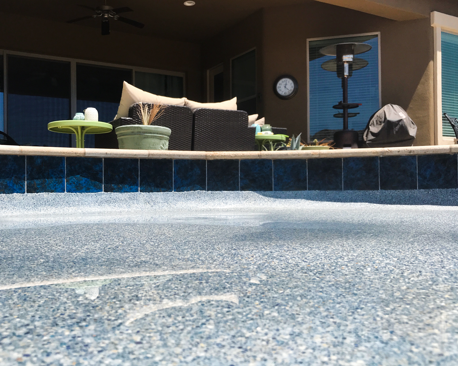Pool Tile Cleaning Pools after