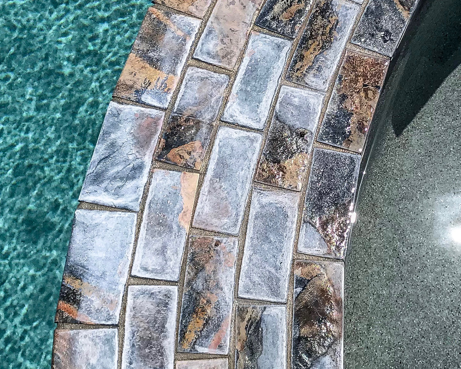 Pool Tile Cleaning Service before